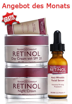 Retinol Anti-Falten Kombi-Set